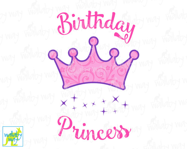 Crown clipart happy birthday Shirt Birthday Iron Use or