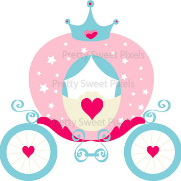 Cart clipart princess Images  Free Carriage Clipart