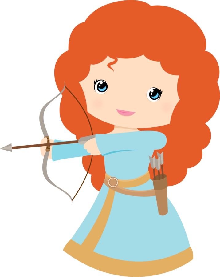 Super Girl clipart brave person Princess Merida Tiaras Clip Party
