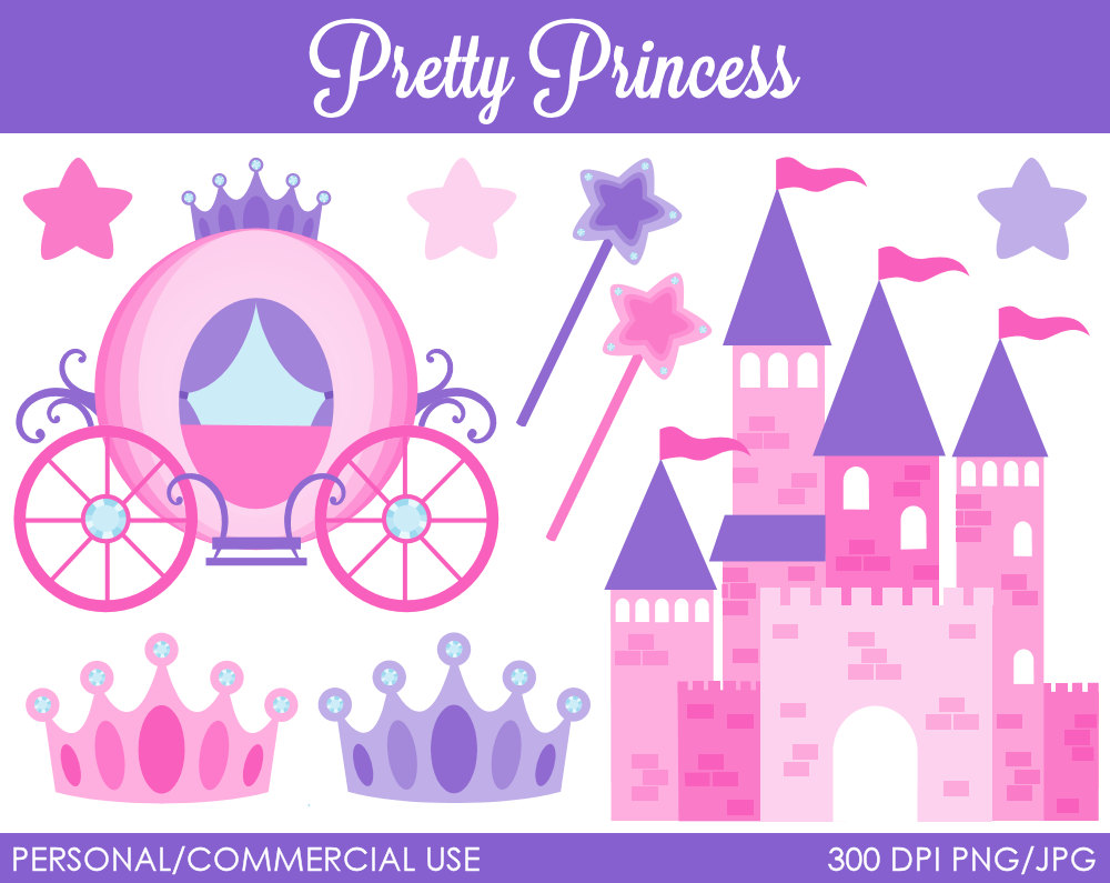 Castle clipart pink purple Purple clipart roses Purple garden