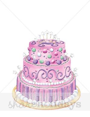 Birthday clipart princess Cake Purple Princess Clipart Purple