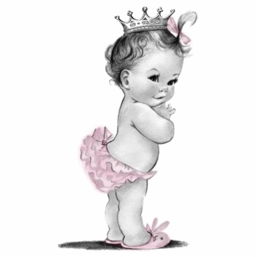 Princess clipart vintage Baby clipart silhouette Pictures Clipart