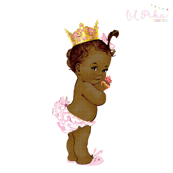 Princess clipart vintage Vintage collection princess Birthday Princess