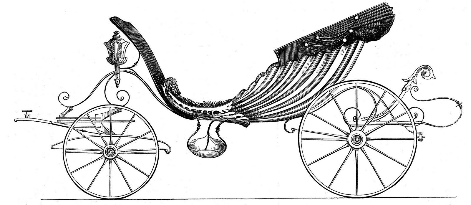 Princess clipart vintage Clip Princess for Carriage Fairy