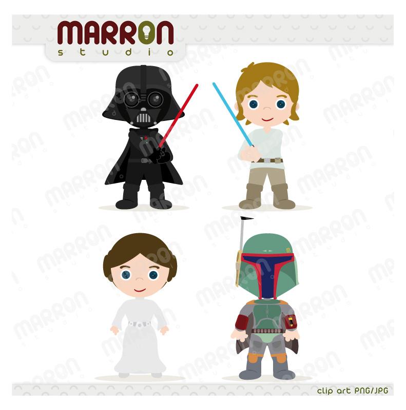 Princess Leia clipart Skywalker  Star_20wars_20kids_original set Star