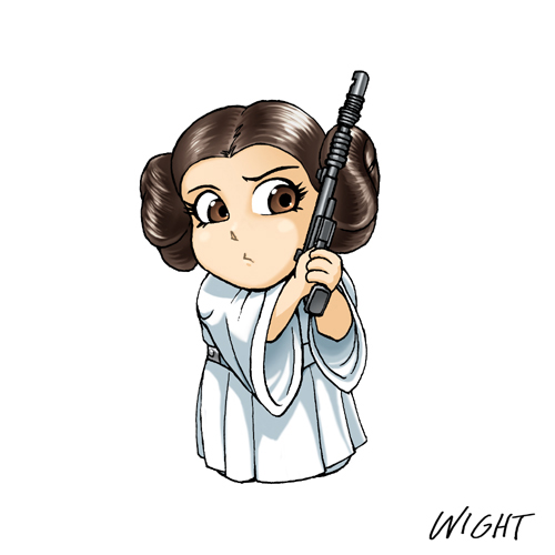 Princess Leia clipart Pw Art FreeClipart princess Leia