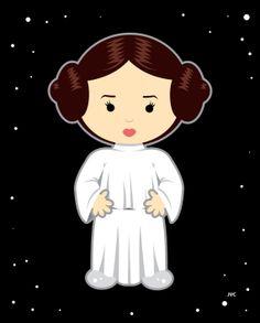 Princess Leia clipart Pw Star Nursery FreeClipart Leia