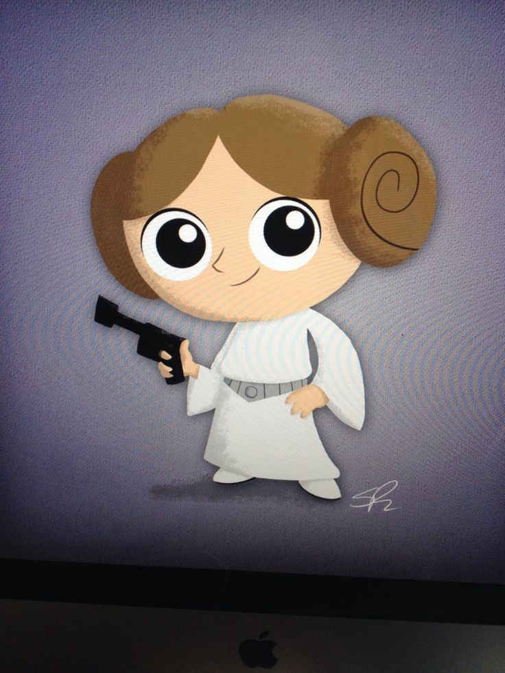 Princess Leia clipart Fisher on Carrie  Purple