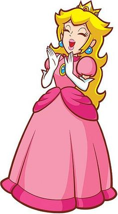 Princess Peach clipart Princess Cheerful Mario Odyssey) Bros