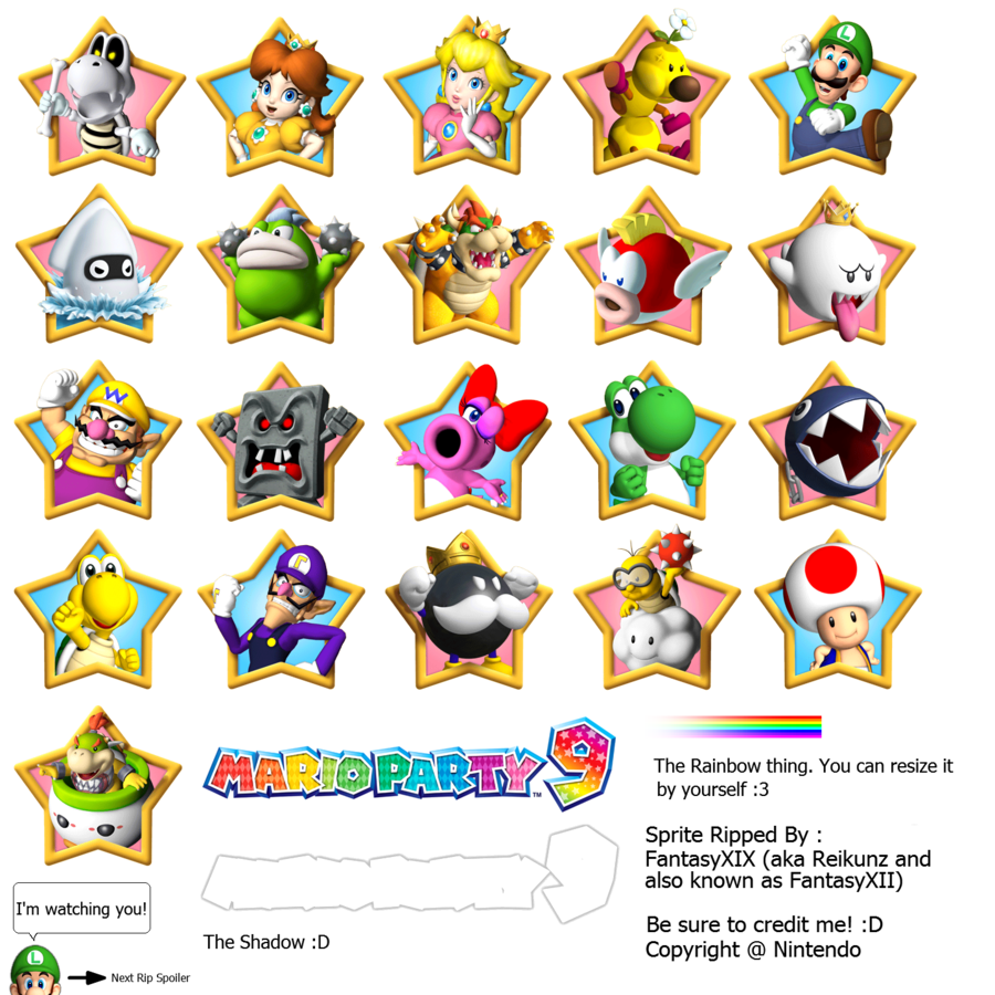 Princess Peach clipart mario party 9 On Explore 9 : Title