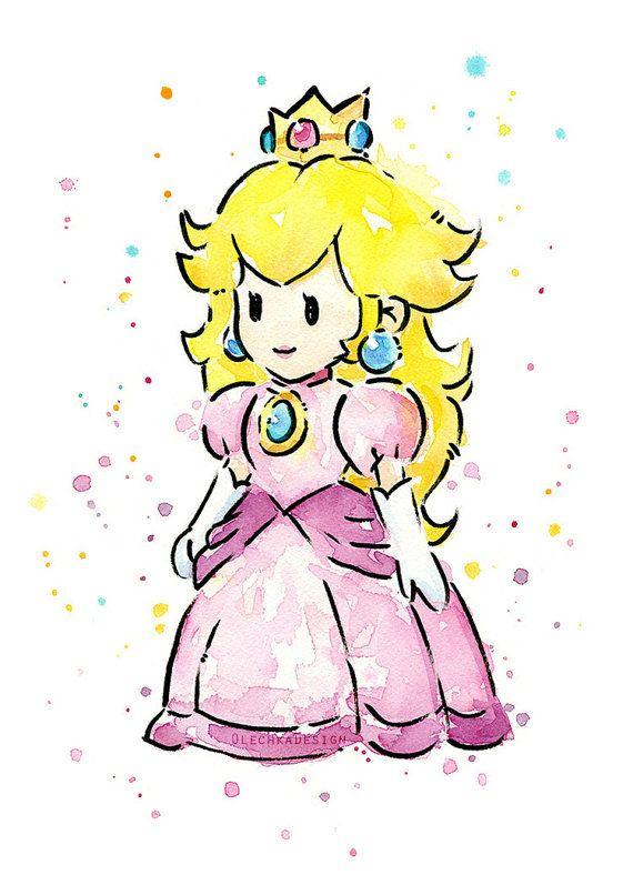 Princess Peach clipart nintendo Princess Mario Mario Best Art