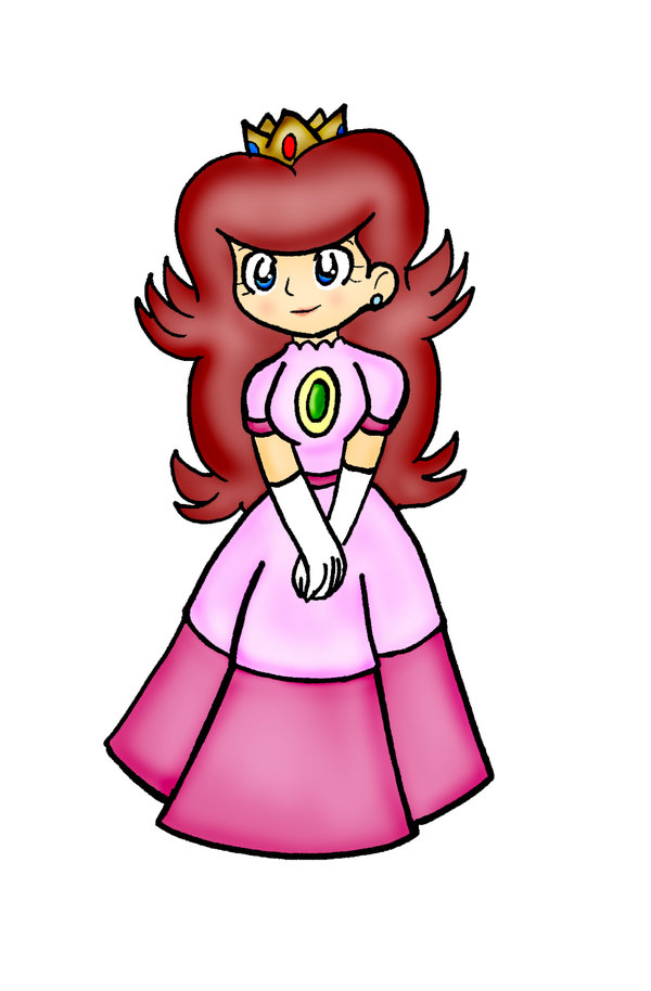 Princess Peach clipart old school LizDraws by on DeviantArt Old