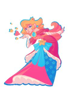 Princess Peach clipart prinsess  com Peach by Tattoo!