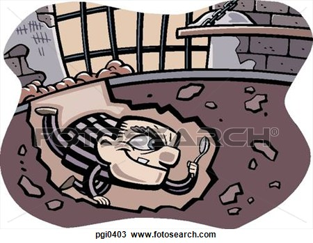 Prison clipart drawing Escape Jail collection From Clipart