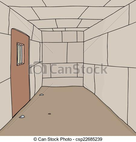 Prison clipart drawing Empty Prison Empty Cell of