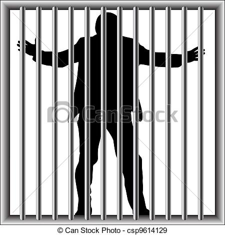 Prison clipart drawing Clip man Vector in Search