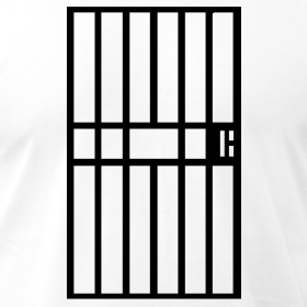 Bar clipart cage Man There prison clipart Collection