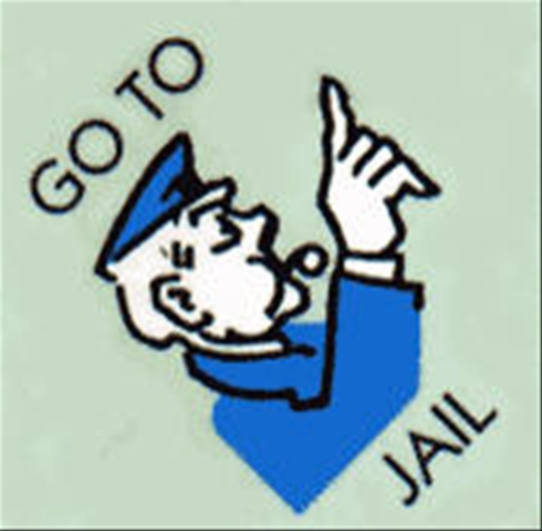Prison clipart monopoly jail Disrupts download collection System clipart