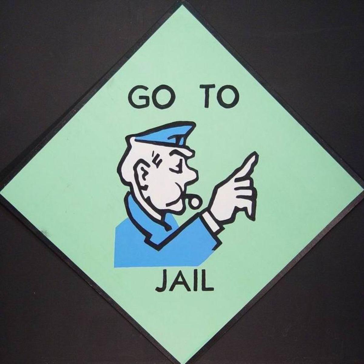 Prison clipart monopoly jail Will Free jail Art Third