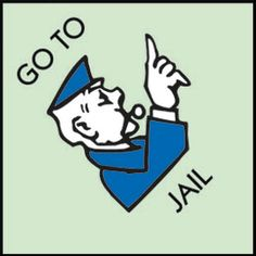 Prison clipart monopoly jail Clearly Monopoly Kids Monopoly can