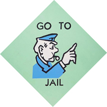 Prison clipart monopoly jail Bound Harris — County Bound