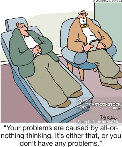 Problem clipart cognitive Therapy Therapy cartoon and pictures