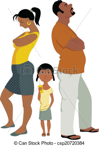 Problem clipart family problem Problems Family affects Family affects