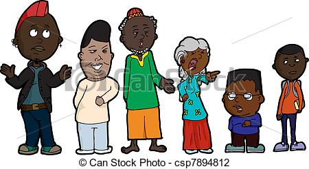Problem clipart family problem With mother Family Family csp7894812