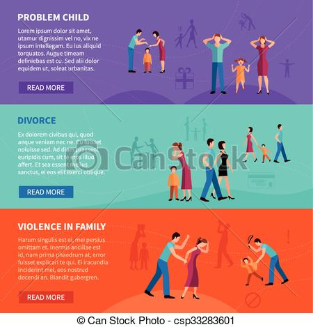Problem clipart family problem With People Vector People Family