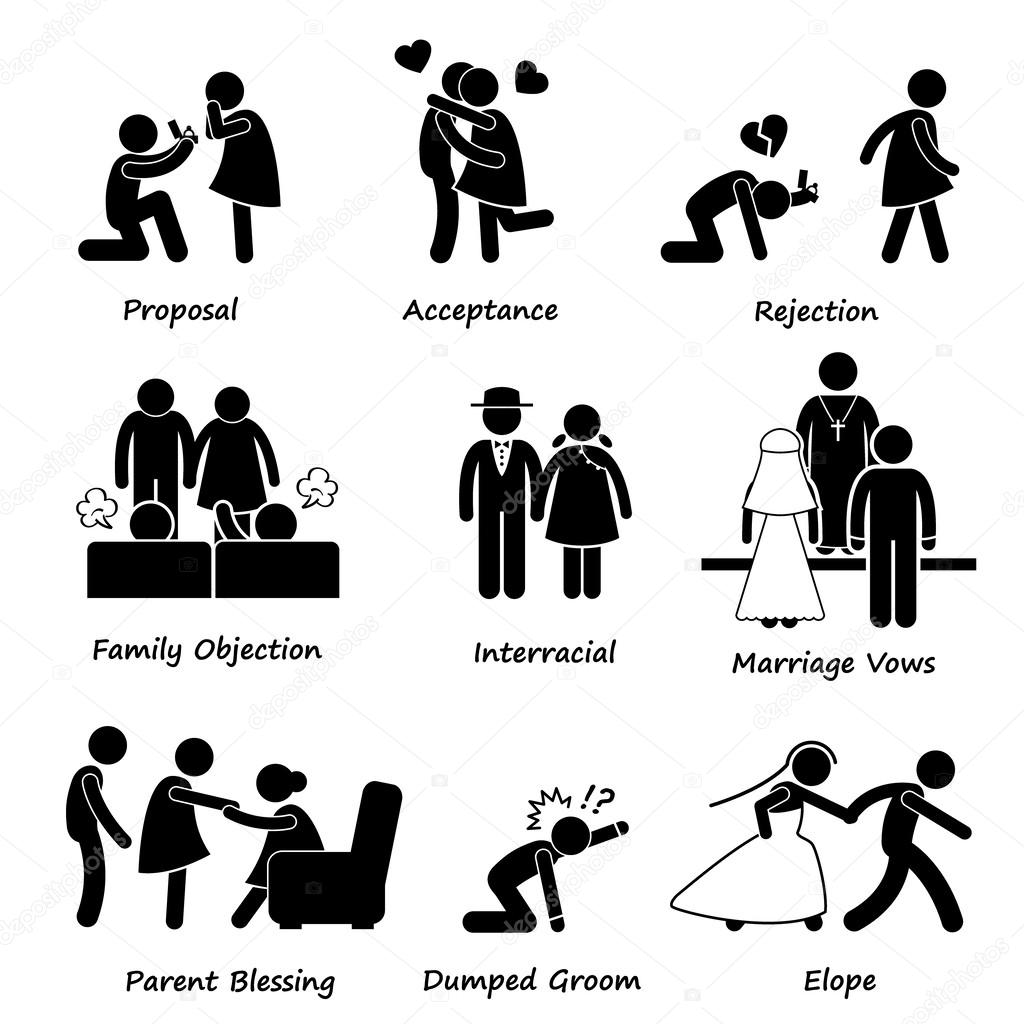 Problem clipart icon Of by Pictogram Problem Marriage