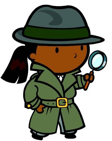 Problem clipart kid detective Introduction Mysteries Encyclopedia Schools Detectives