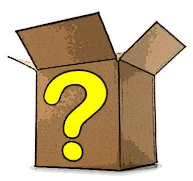 Mystery clipart mystery box #1