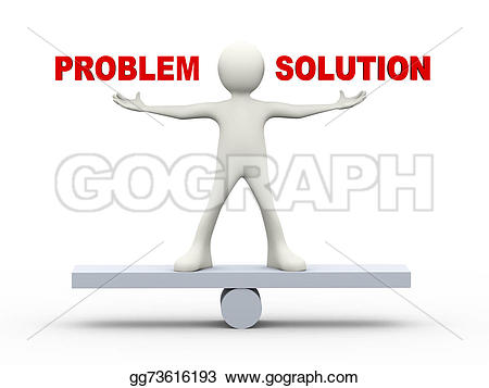 Problem clipart person Balance standing Illustrations Stock person