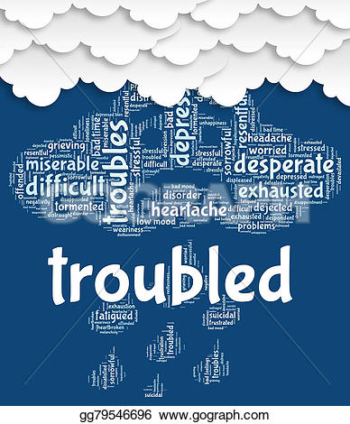 Problem clipart problematic Difficult Troubled Stock  and