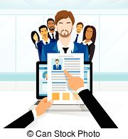 Problem clipart recruitment Vector Illustrations Position Job Recruitment