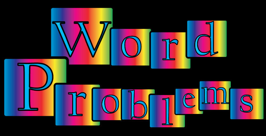Word clipart problem Clip Art Problems Math Clip