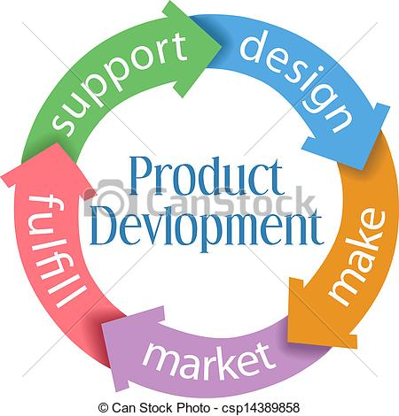 Product clipart Product Development Icon Development Clipart Five Arrows Product