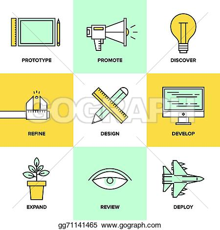 Product clipart Product Development Icon Product Vector Clipart flat Studio