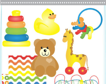 Baby clipart baby toy Etsy clipart/ Toys Toy Toys