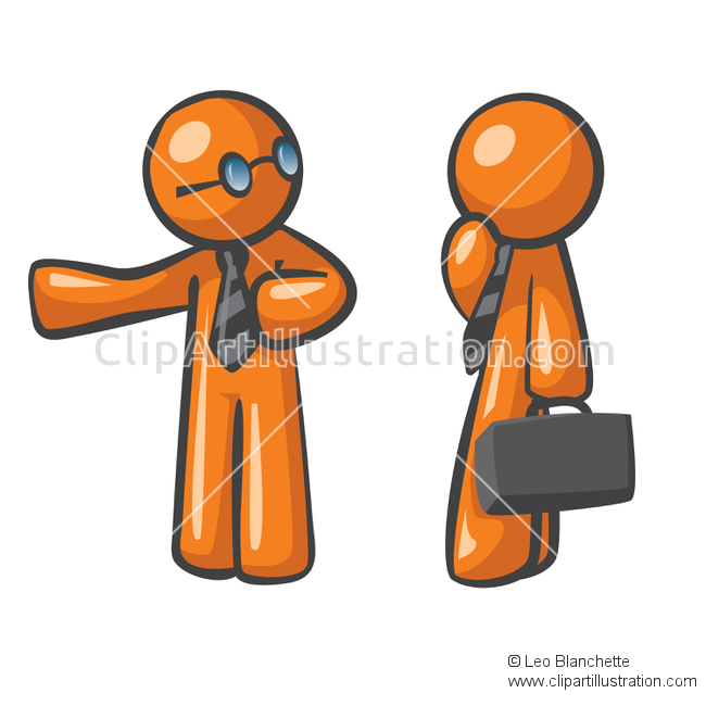 Professional clipart apprentice And to Orange Illustration Illustration