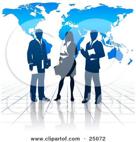 Professional clipart business collaboration #3