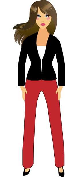 Professional clipart female #8