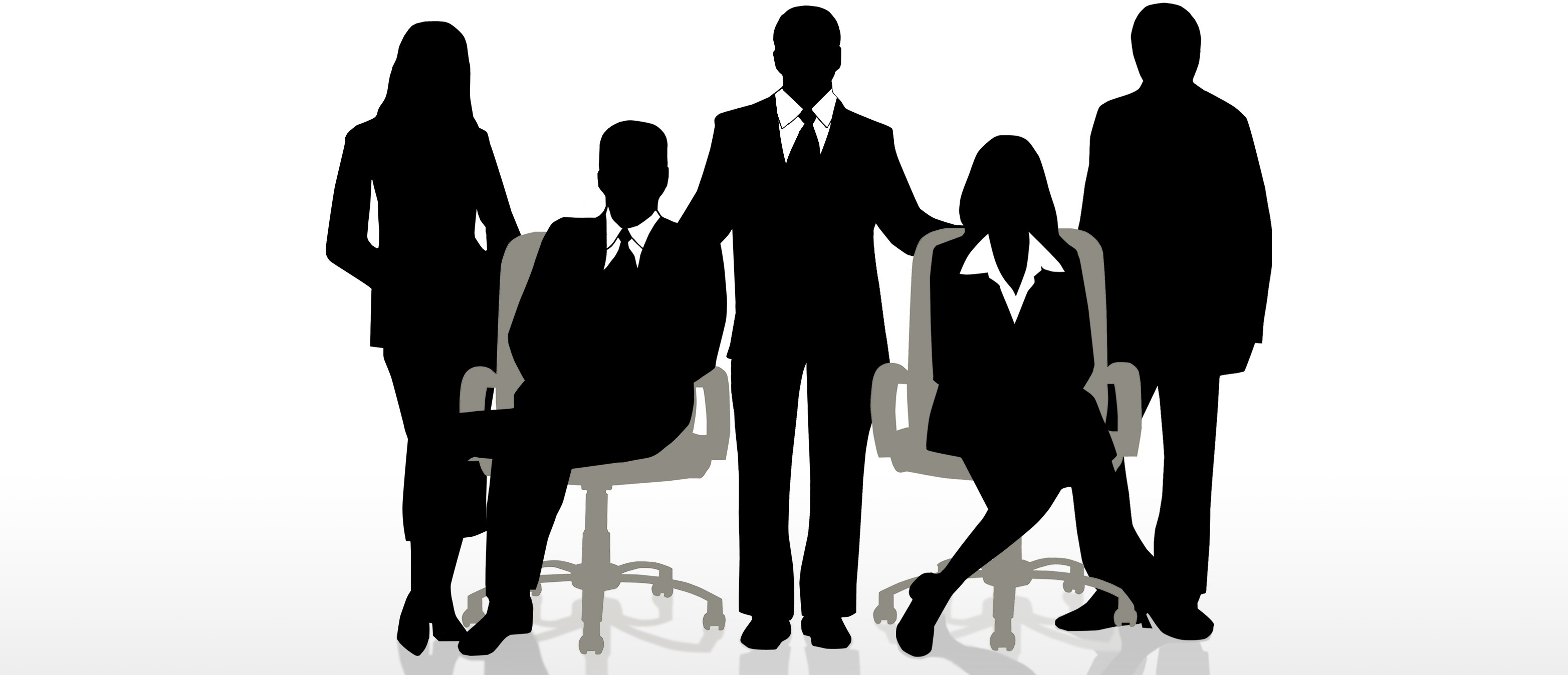 Staff clipart corporate team Syndicate silhouette  art Google