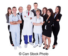 Professional clipart hospital staff Staff Staff Stock Hospital Photography