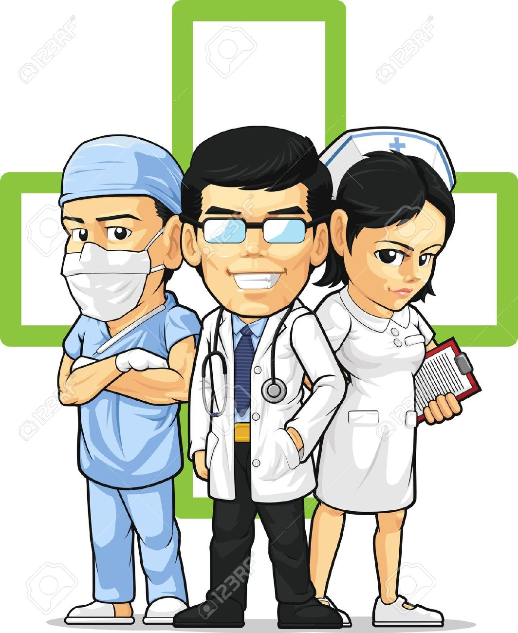 Professional clipart hospital staff Clipart cliparts Staff Staff Care