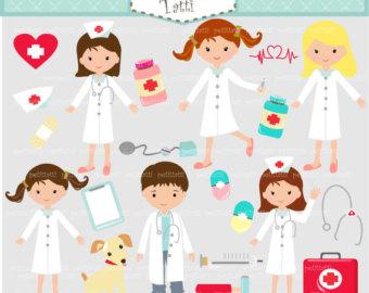 Professional clipart hospital staff #7