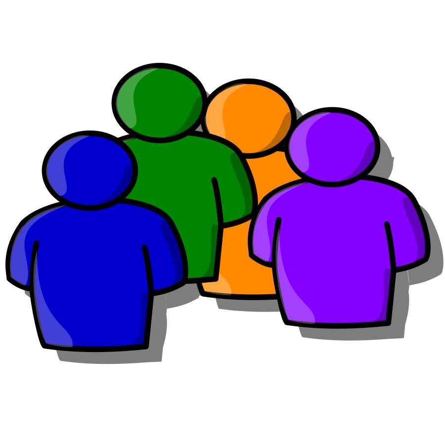 Professional clipart many person #3