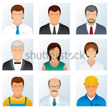 Professional clipart many person #9