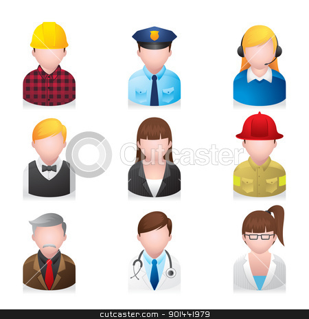 Professional clipart many person #6