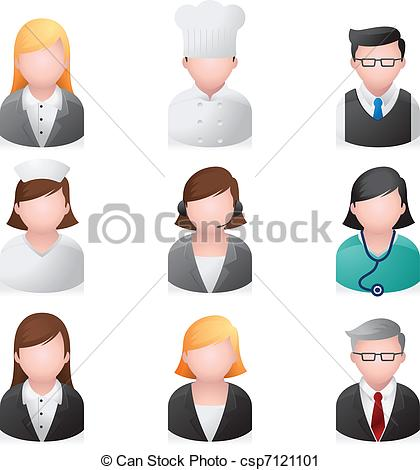 Professional clipart many person #2